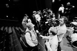 News crews at the Zagreb concert (Spring 2011)