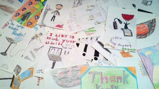 Thank You Cards from the Gilbert Linkous Elementary